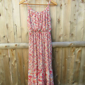 Fun Flowy Floral Dress w/ Adjustable Straps